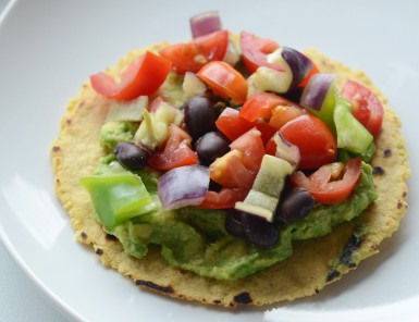 How to Make Guacamole Tostadas with Your Kids