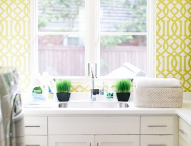 Light & Airy Laundry Room