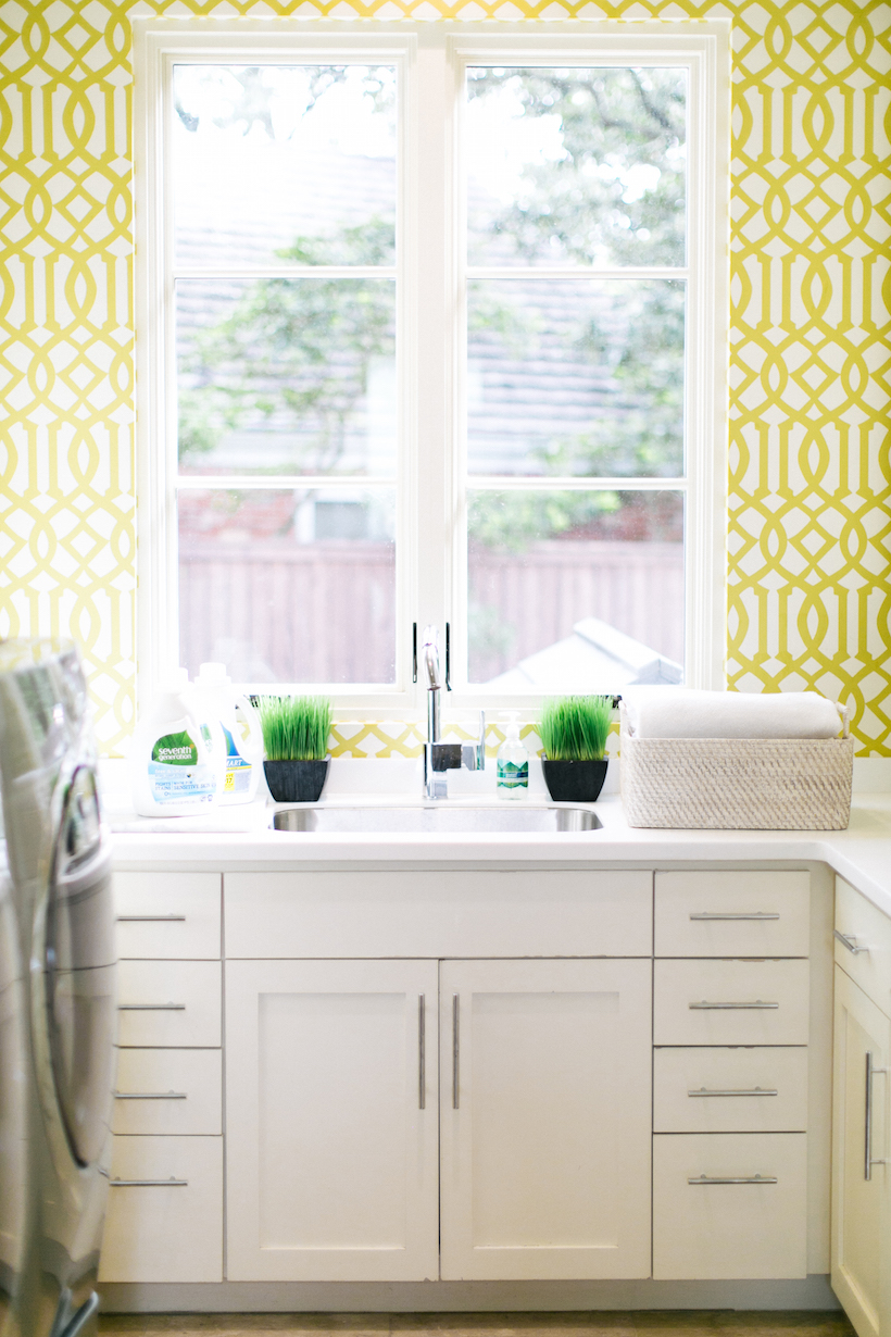 Light & Airy Laundry Room