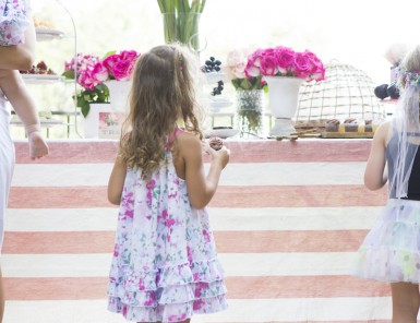 Dessert Buffet // Phoebe's Woodland Fairy Party