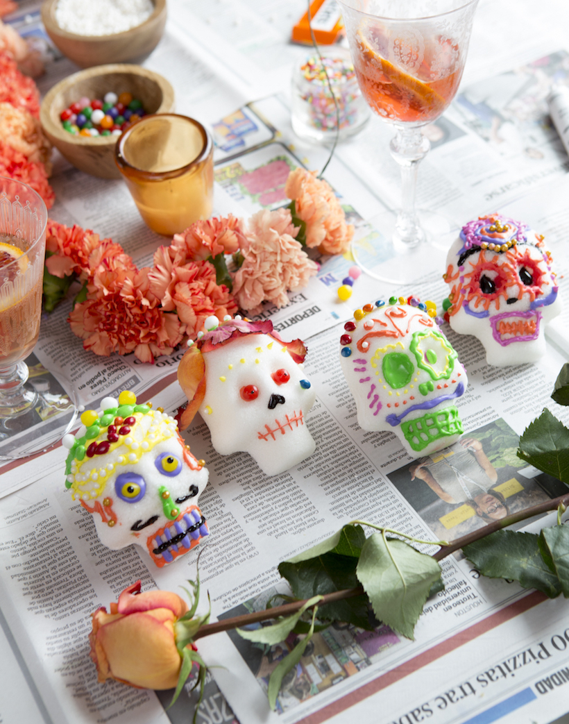 A Sugar Skull Decorating Party