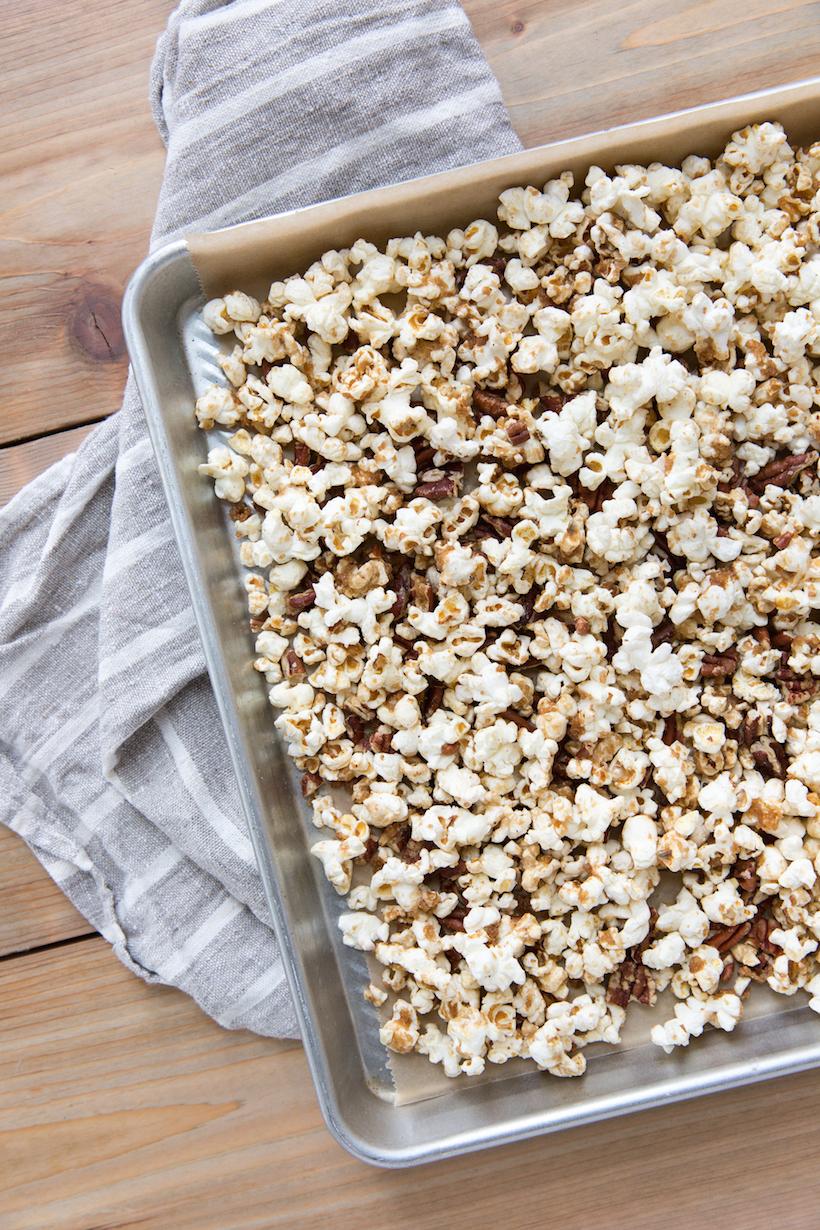 Caramelo de maíz casero fácil