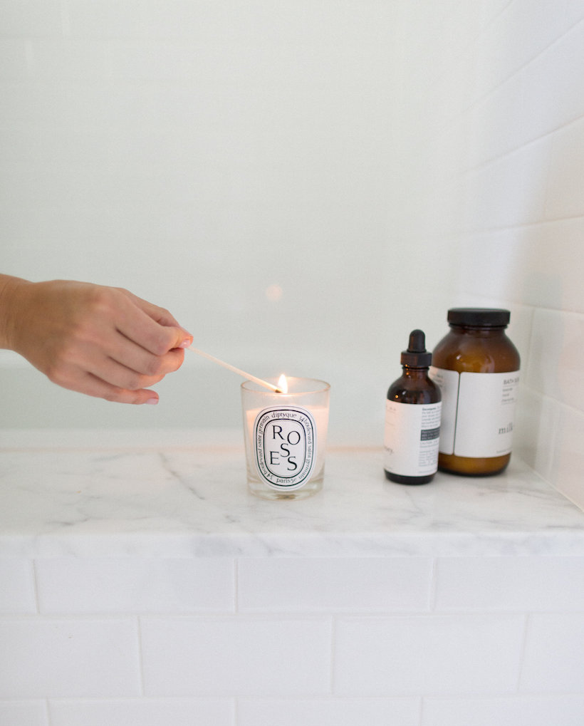 candle this step makes your bathroom feel instantly like a spa