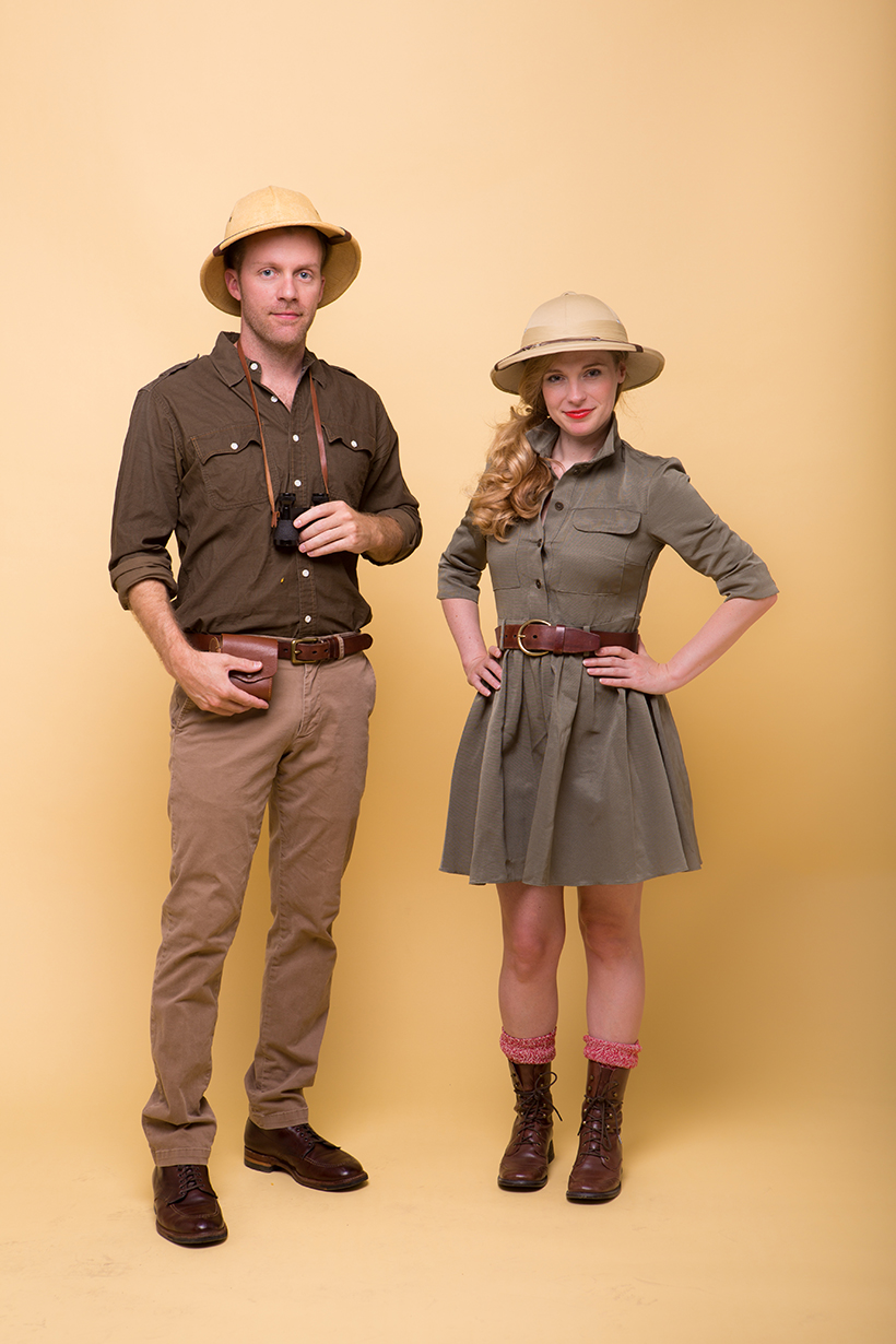 Couples Costume Idea: Safari Couple | Camille Styles