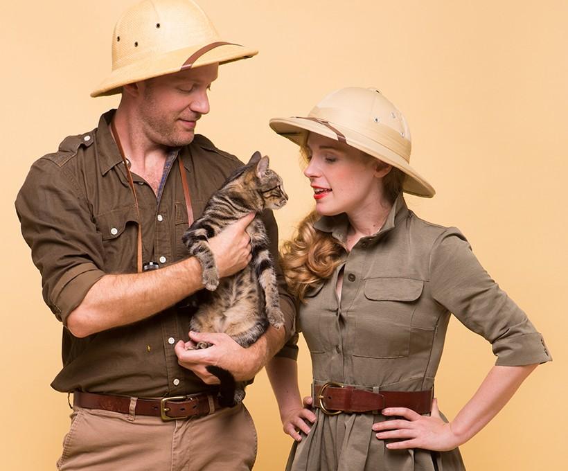 Couples Costume Idea: Safari Couple | Camille Styles