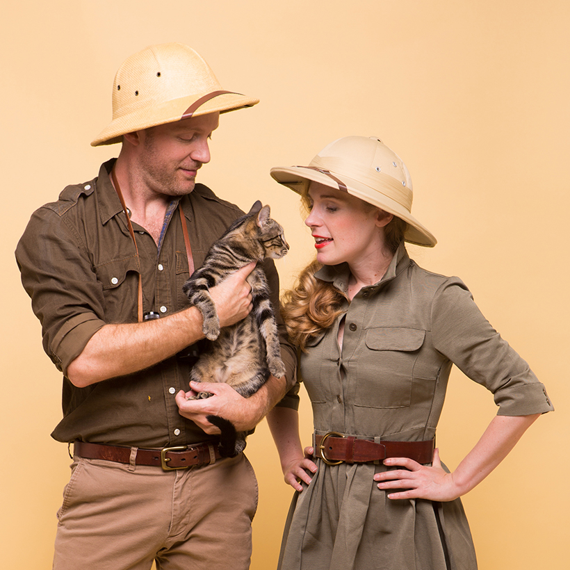 Safari Couple's Costume - Camille Styles