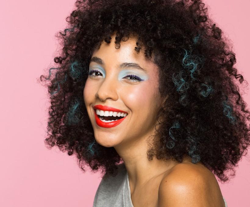 80's rockstar makeup tutorial for an easy halloween costume