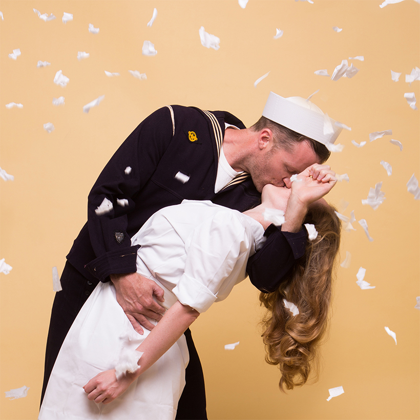Couples Costume Idea The Kissing Sailor | Camille Styles & The Kissing Sailor Coupleu0027s Costume - Camille Styles