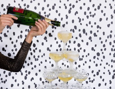 can we have a champagne tower at every party, please?