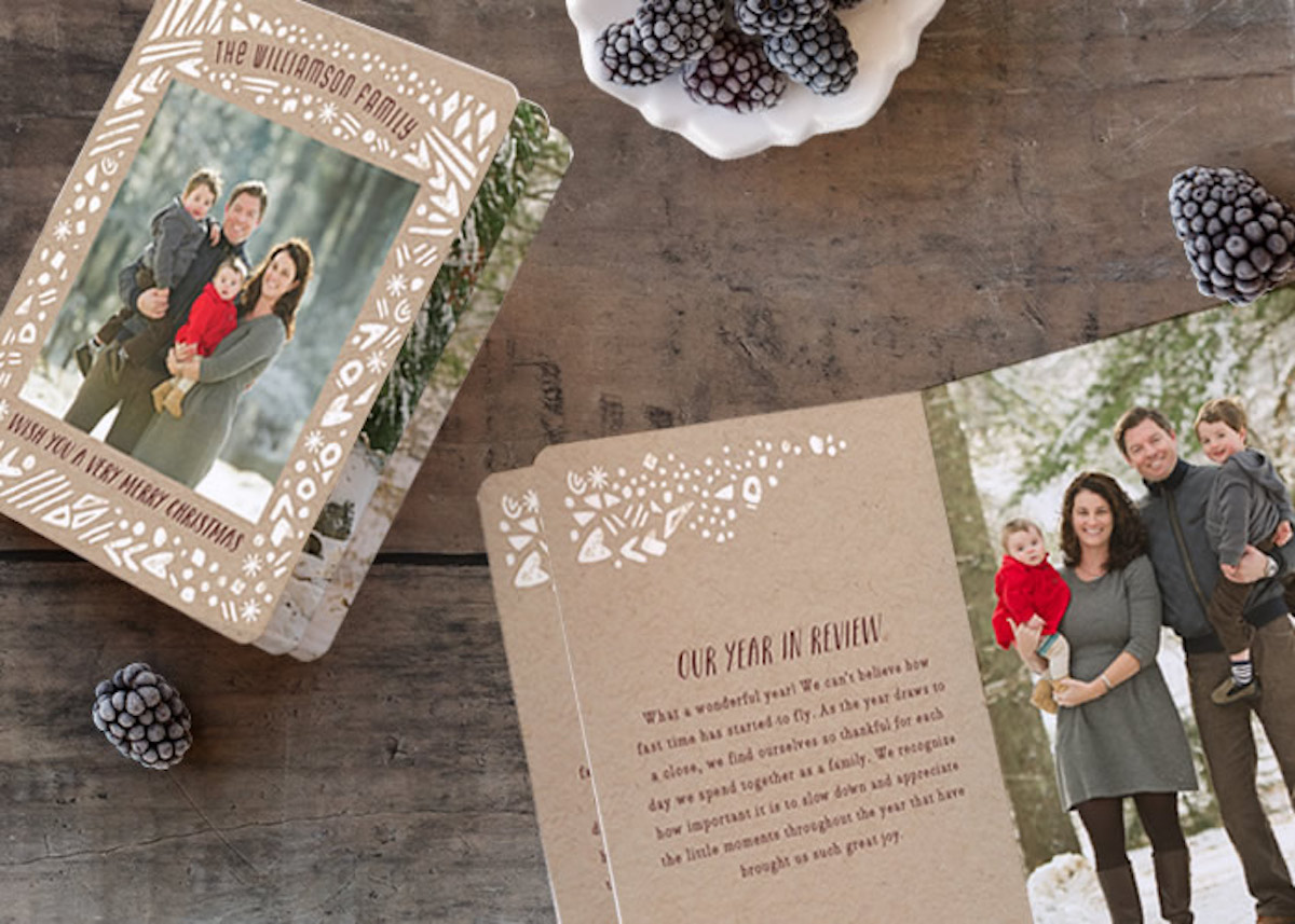 BookletteTM card from Minted