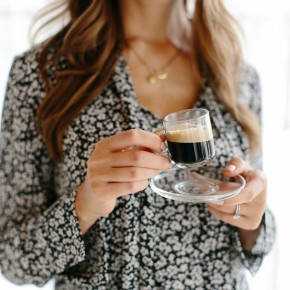 The perfect espresso // Slow down and savor the everyday moments.