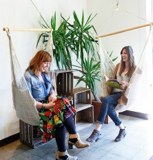 Besties: Anna Crelia and Rhoda Brimberry of LOOT Vintage Rentals