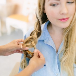 Boho Side Braid Hair Tutorial | Camille Styles