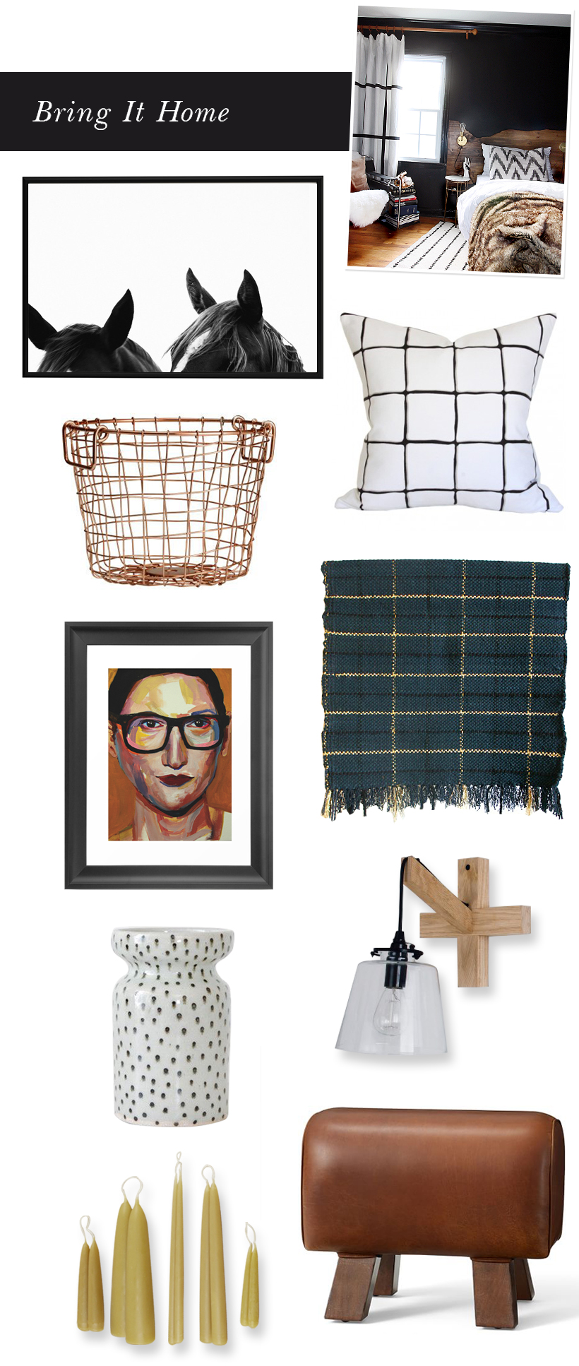 Cozy Fall Bedroom | Bring It Home