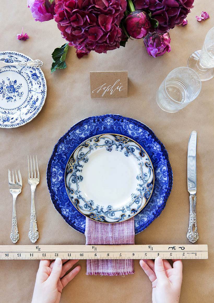 How To Set The Table A great guide for weddings holiday tables and & How To Set the Modern Holiday Table - Camille Styles