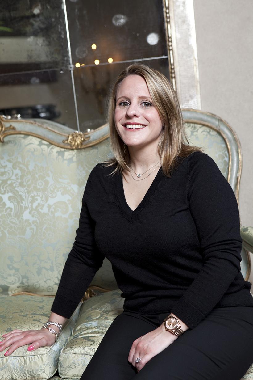 Jacqueline Kotts of Mrs. John L. Strong