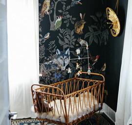 A Modern Bohemian Nursery
