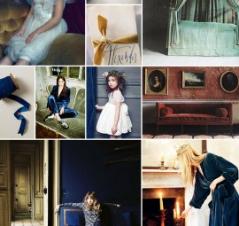 Velvet Inspiration Board | Camille Styles