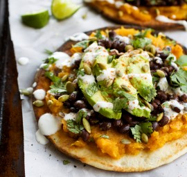 Pita Tostadas // From Camille's Kitchen