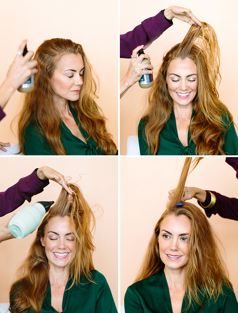 How to Change Your Entire Look Just By Moving Your Part - Camille Styles
