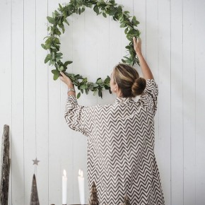 simple & pretty christmas wreath