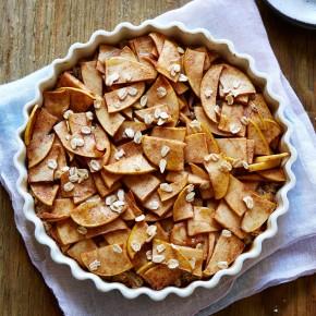 healthy apple tart YUM!