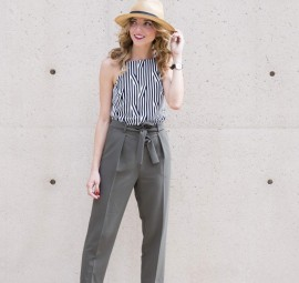 SWOONING over these olive trousers