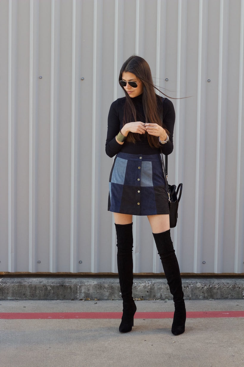Currently channeling: modern mod vibes
