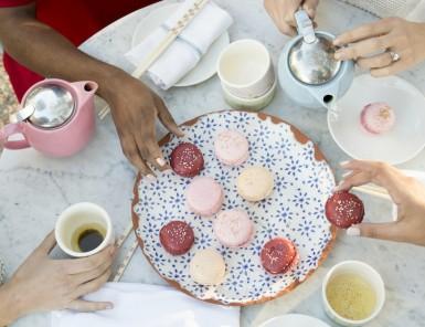 Macaron Making at Elizabeth Street Cafe