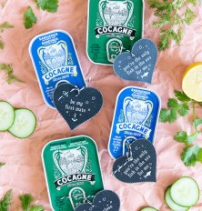sardine tin valentines for the adventurous foodie in your life!