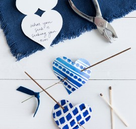 DIY Incense Valentines