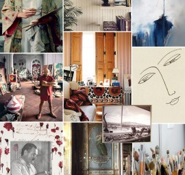 Art Studio Inspiration Board
