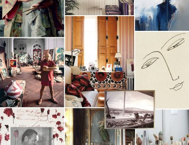 Art Studio Inspiration Board