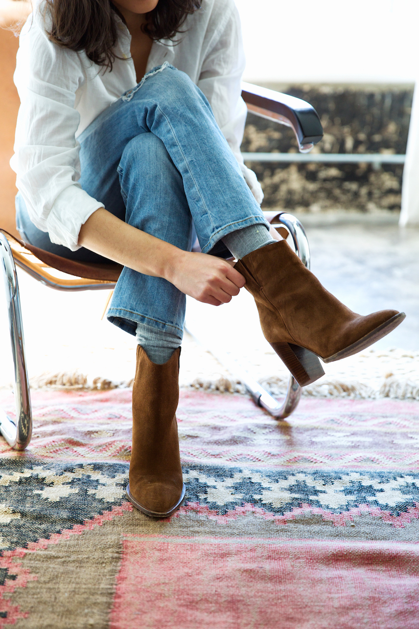 classic brown boots