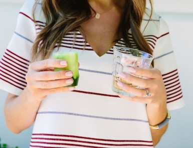 These cucumber shooters were a fun way to incorporate sangrita shooters