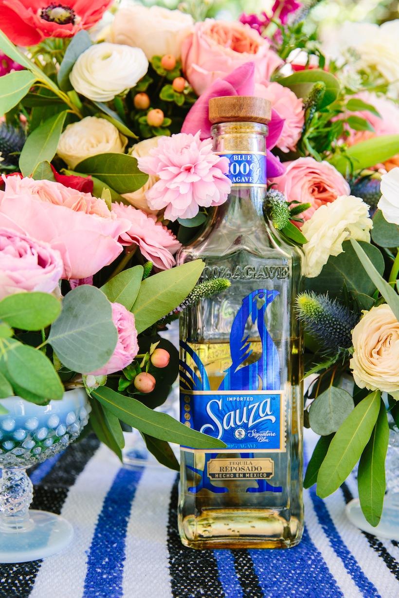 Cinco de mayo party with sauza tequila