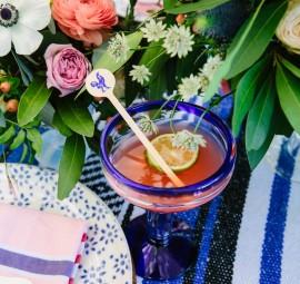 add a beautiful twist to your classic margarita