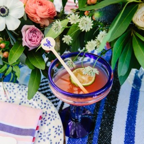 add a beautiful twist to your classic margarita