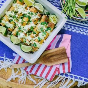 Add some avocado crema to take your taquito recipe to the next level