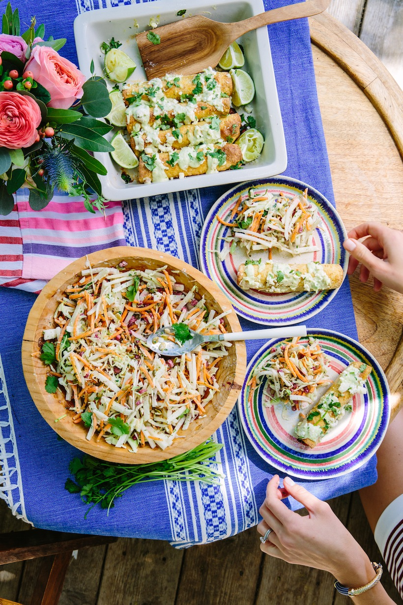 This slaw had a secret ingredient for a little extra flavor