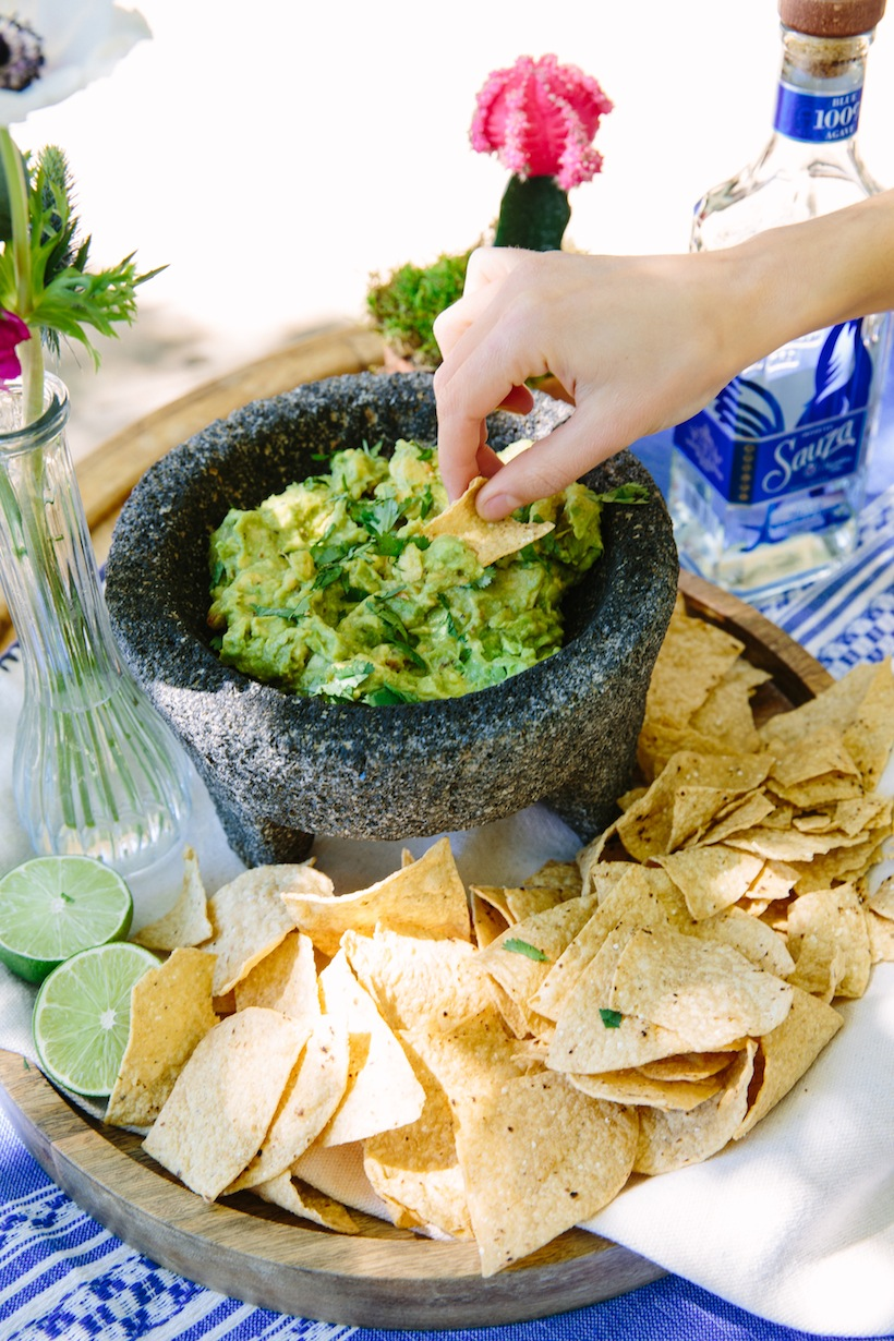 Of course, you can't have a cinco de mayo party without some guac