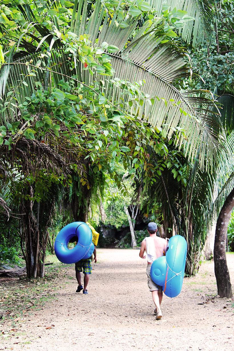 Jungle tubing... how cool is this?