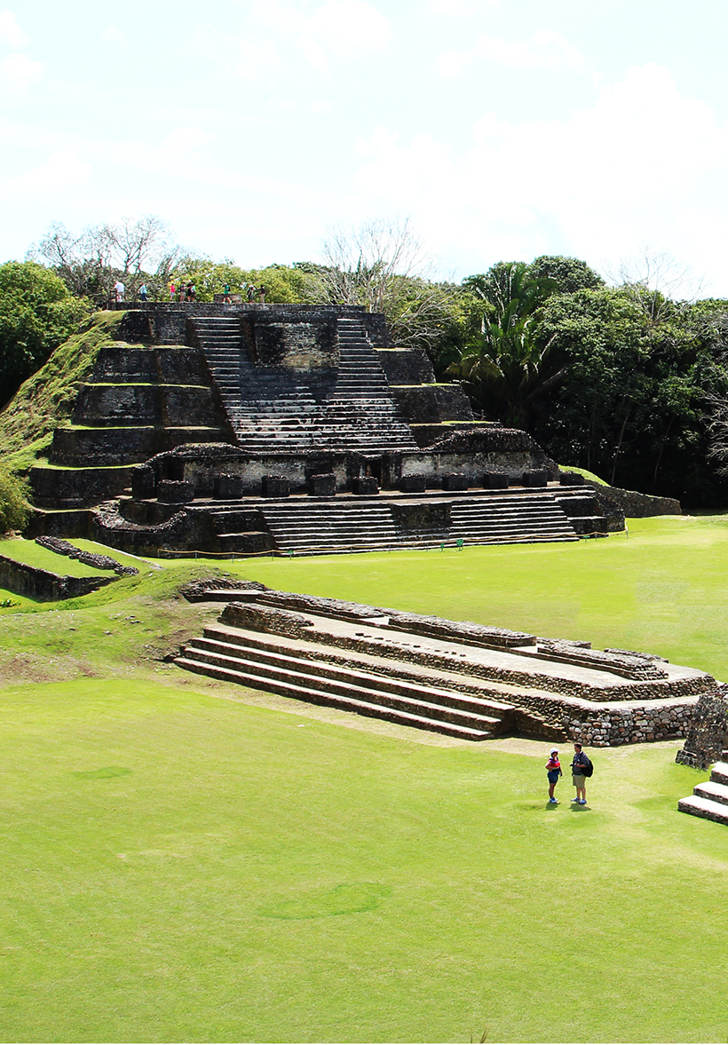 Visit the ruins in Belize