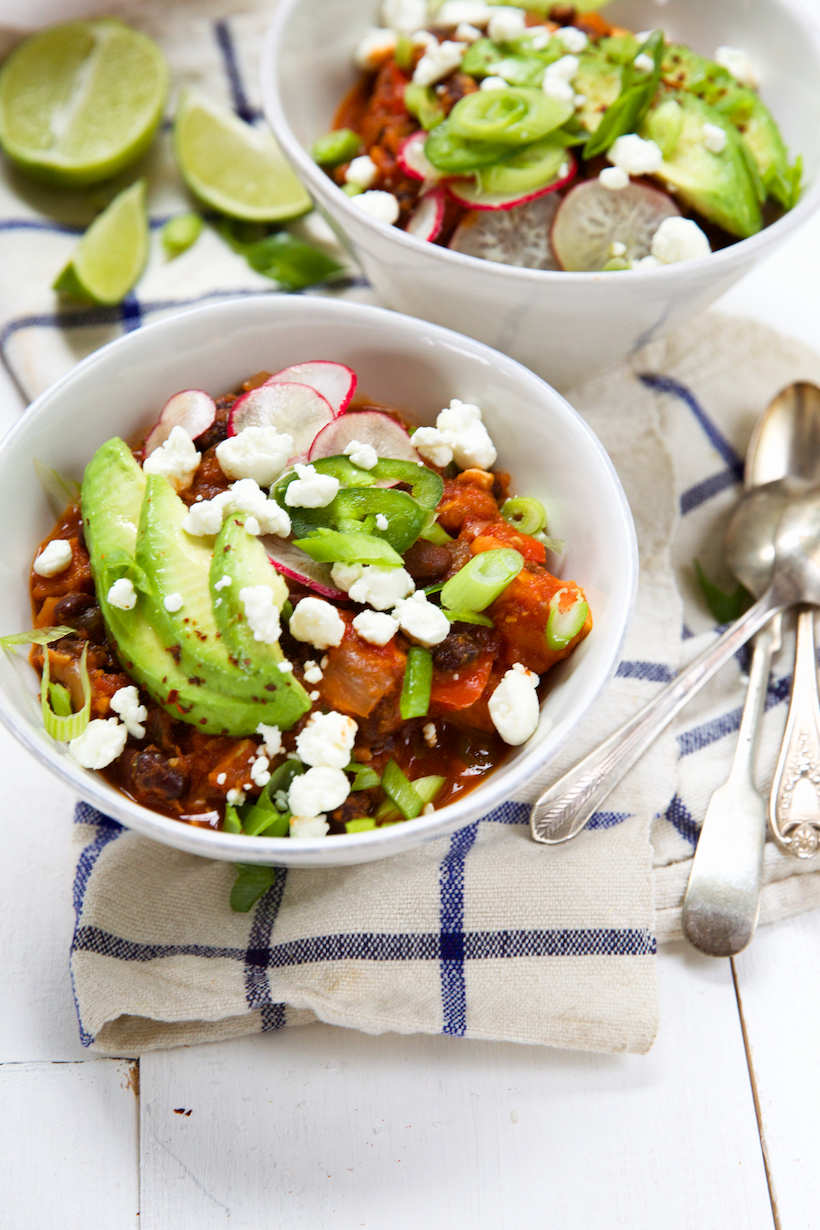 the best vegetarian chili you've ever tasted