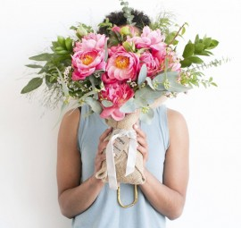 Farmgirl Flowers Pretty Peony Bouquet