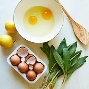 Spring Onion & Feta Frittata