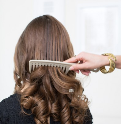 Classic curls.