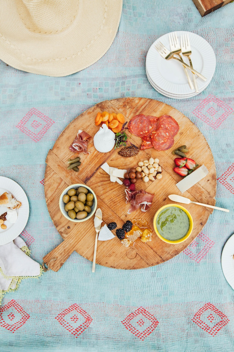 It doesn't take too much to create the perfect charcuterie board
