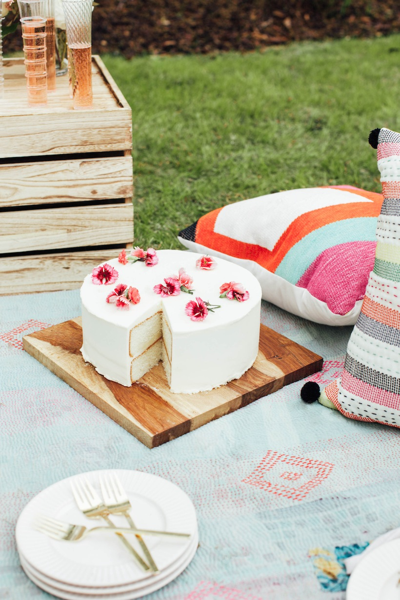 A little cake for the picnic never hurt