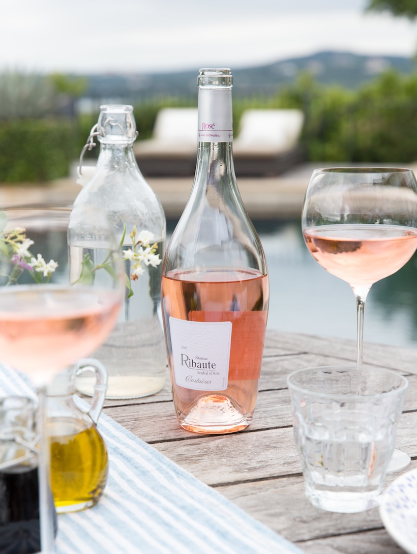 Languedoc rosé wine is perfect for summer outdoor entertaining